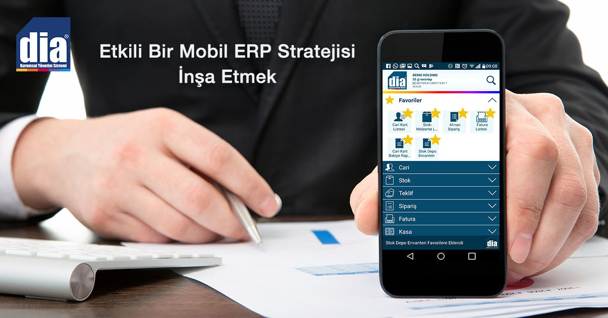 Etkili Bir Mobil ERP Stratejisi İnşa Etmek