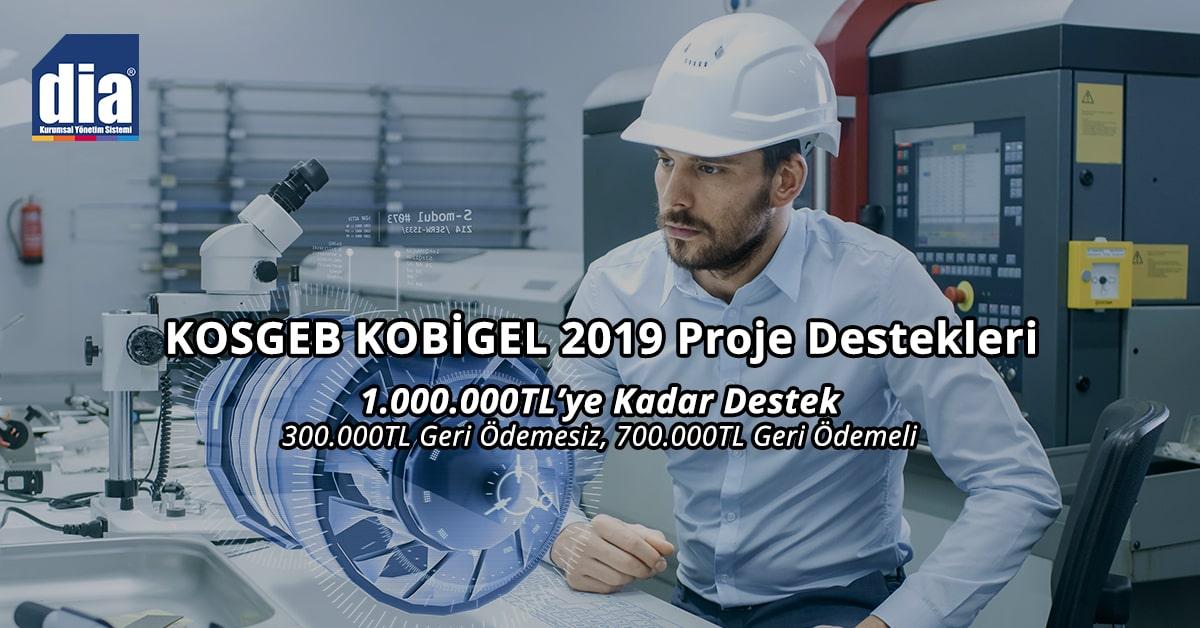 KOSGEB KOBİGEL 2019 Proje Destekleri