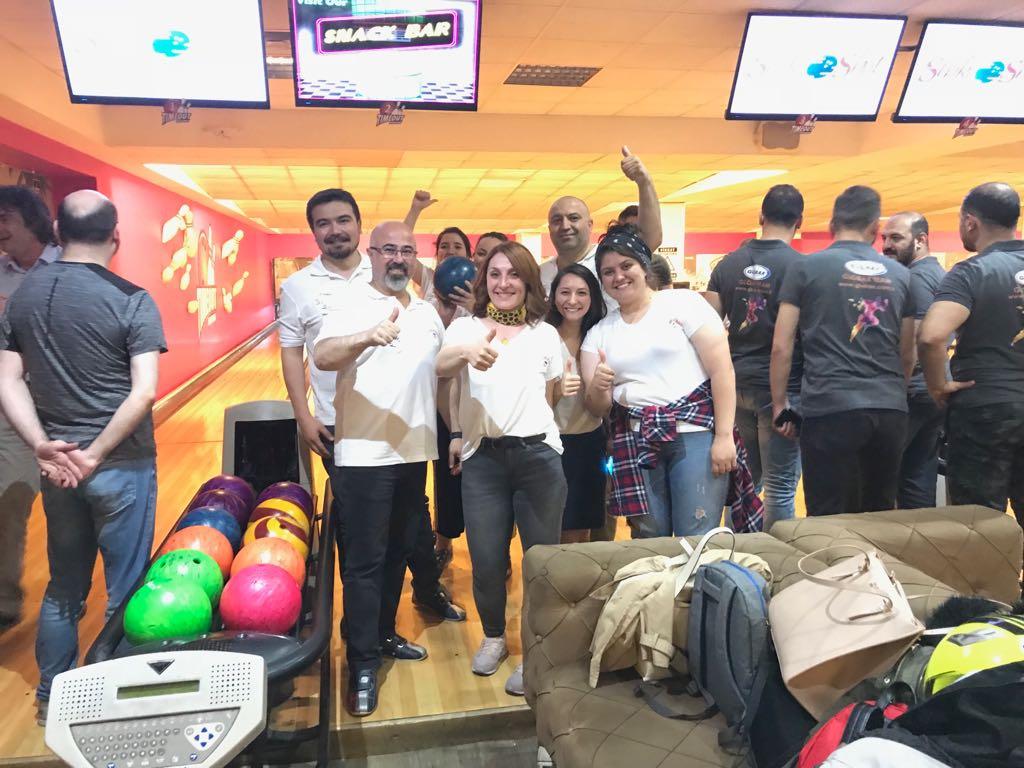 DİA Yazılım BTHaber Bowling Turnuvasında