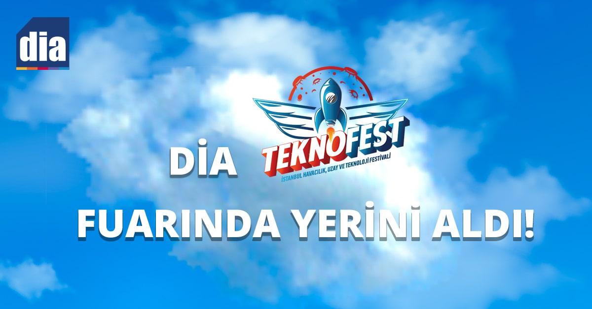 DİA Teknofest Fuarında Yerini Aldı!